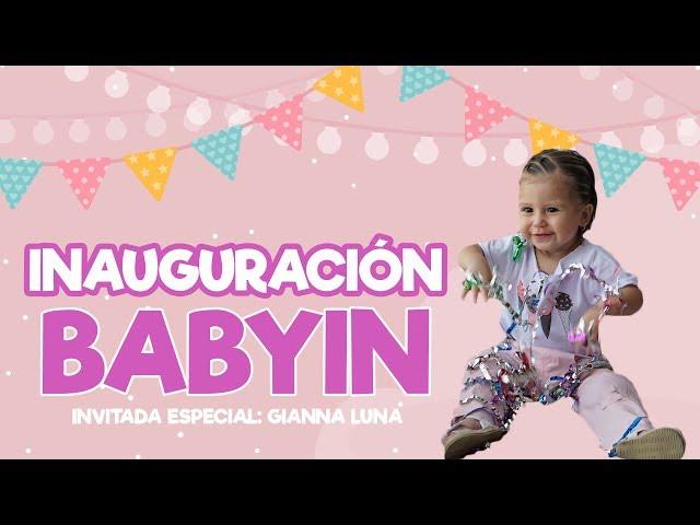 GIANNA FUE INVITADA ESPECIAL   INAUGURACIÓN DE BABYIN thumbnail