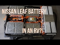 RV House Battery Part 1: Source and Open Nissan Leaf Battery