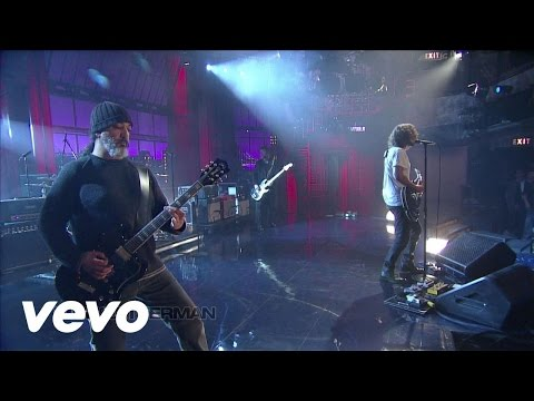 Soundgarden - Rowing (Live On Letterman/2012)