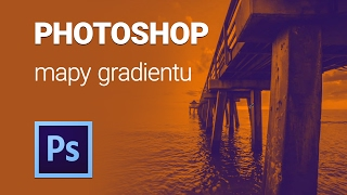 Photoshop mapy gradientu tutorial