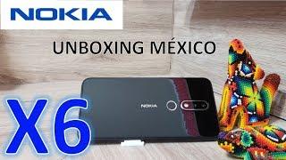 NOKIA X6 | 6.1 PLUS UNBOXING MÉXICO