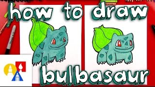 Download How To Draw Bulbasaur Pokemon 3Gp Mp4