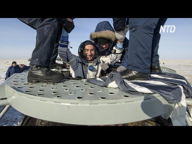 Экипаж экспедиции МКС-60 вернулся на Землю