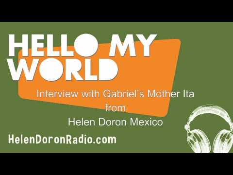 Interview with Gabriel's Mother Ita from Helen Doron Mexico
