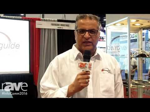 InfoComm 2016: Fiberguide Industries Explains New Technology to Replace Anti-Reflection Films