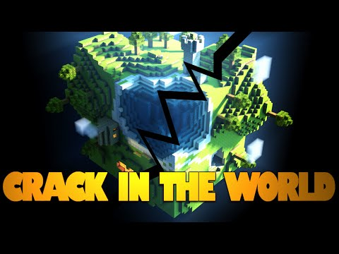 Minecraft | EARTH-DESTROYING VOLCANO! | CUTSCENES | Crack In The World w/ Jason (Minecraft 1.8)