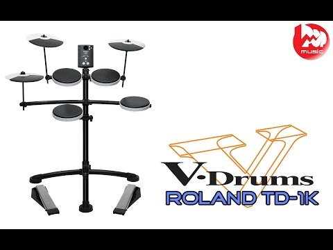 Электронные барабаны ROLAND TD-1K ( TD1K review and demo, RHCP cover)