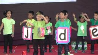 Phonics - Letter Sounds song by Jr.KG C - Madhapur