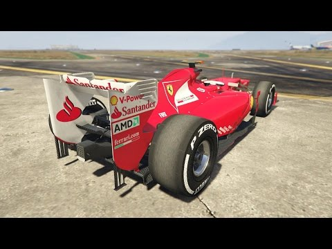 GTA 5 - F1 FERRARI CONCEPT ! FASTEST CAR ?!