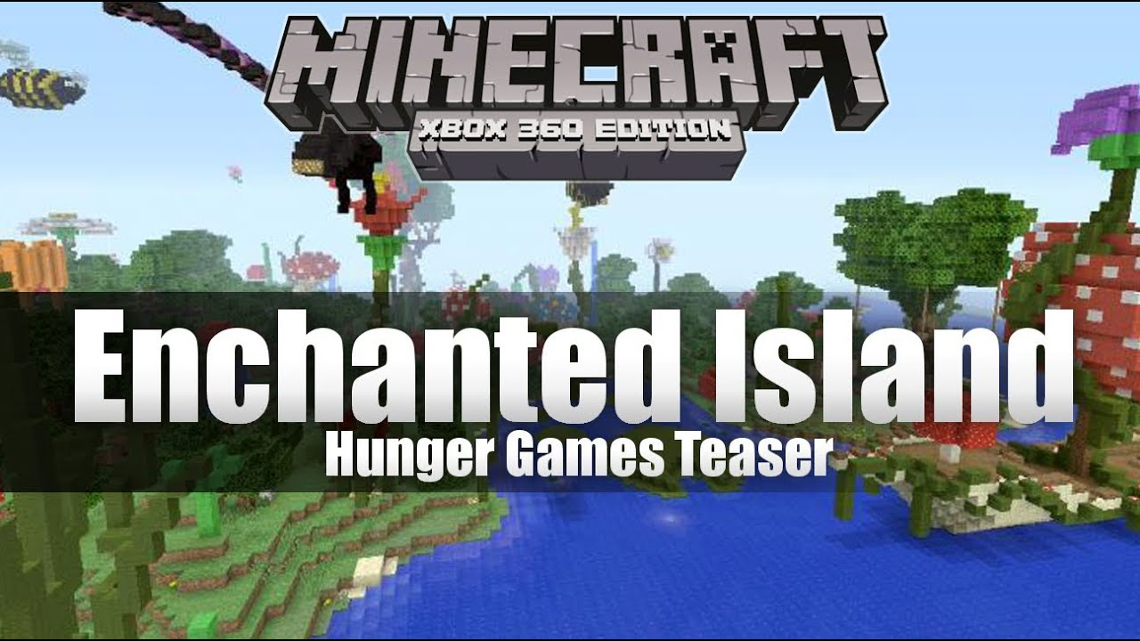 Xbox 360 Hunger Games : Minecraft xbox enchanted island hunger games