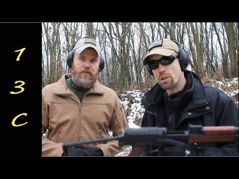 VZ-2008 first look with a surpise visit from Military Arms Channel and a Snowman