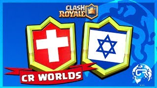 COUPE DU MONDE DE CLASH ROYALE - SUISSE vs ISRAEL !!