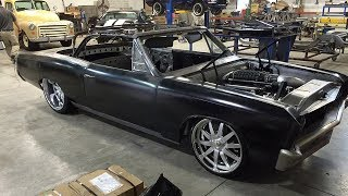 "1967 Chevrolet Chevelle SS Convertible ""Detox"" LS3 600hp Build Project"