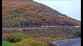 SUPER HORN TREAT FOR HSC VISITORS!    Horseshoe Curve, PA