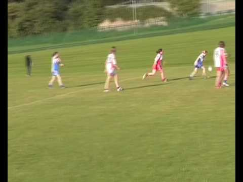 The ancient sport of gaelic football.