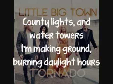 Little Big Town - Night Owl [Lyrics On Screen]