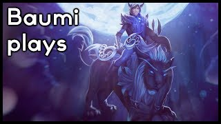 Dota 2 | PERMASTUNNING CASTER CARRY!! | Baumi plays Luna