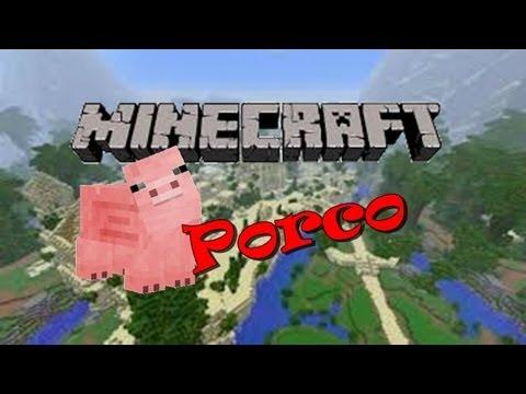 Tutorial Minecraft Como Domar Um Porco Atualizado