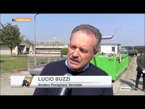 Servizio TG del 17.03.17 -  Interventi di adeguamento al depuratore di Povegliano