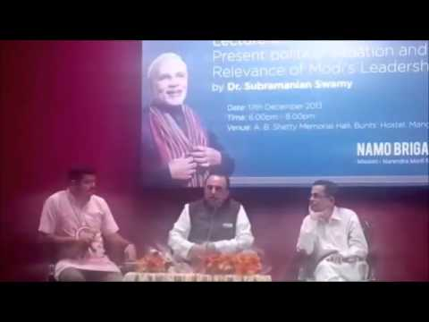 Dr Subramanian Swamy explains the problem with China and Pakistan