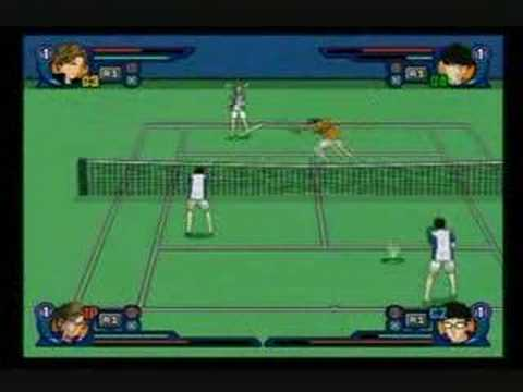 Prince Of Tennis SMASH HIT! 2 - Pair Mode Championship