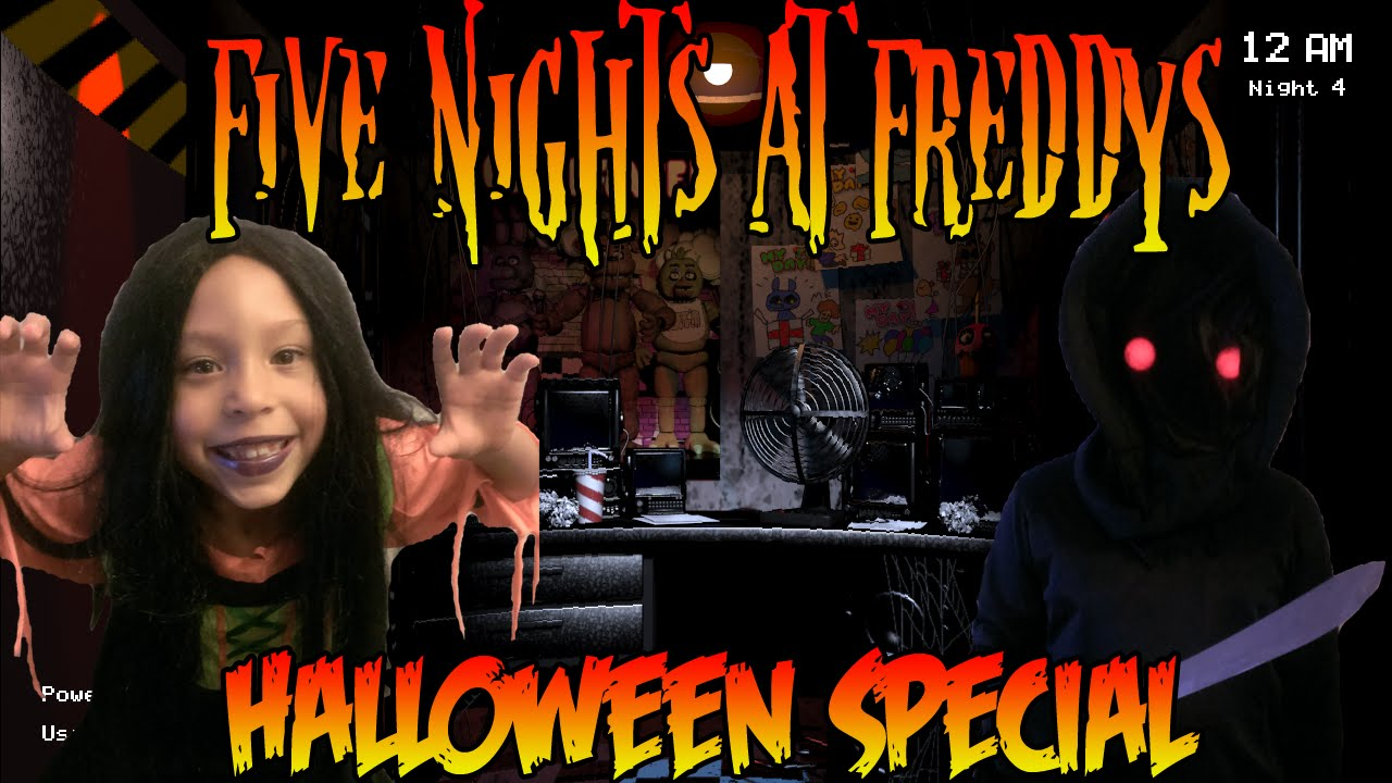 Five nights at freddys halloween special youtube