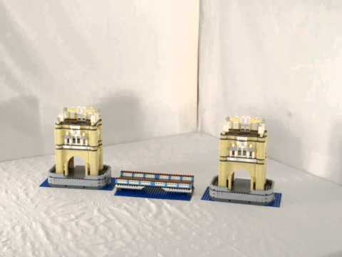 Tower Bridge LEGO time lapse