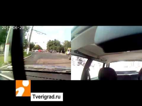 Погоня за мотоциклистом в Твери