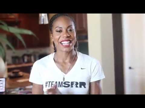 BTS w/ Sanya Richards-Ross