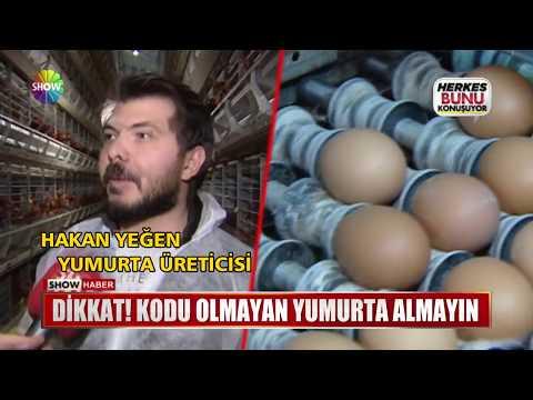 Dikkat! Kodu olmayan yumurta almayın