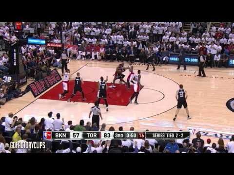 Joe Johnson Full Highlights at Raptors 2014 Playoffs East R1G5 - 30 Pts