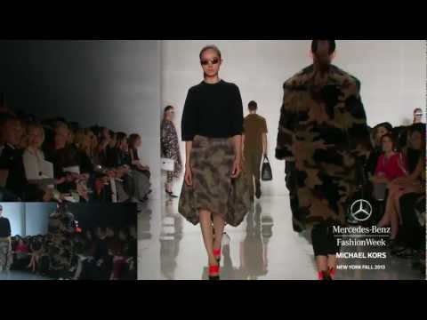 MICHAEL KORS: MERCEDES-BENZ FASHION WEEK FALL 2013 COLLECTIONS