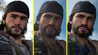 Days Gone 2016 vs 2018 vs 2019 Early Graphics Comparison