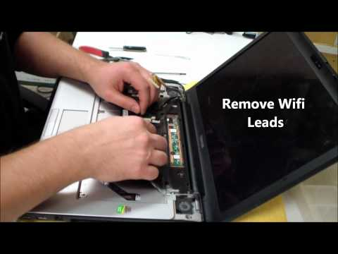 Toshiba Satellite A205 DC Power Jack Repair