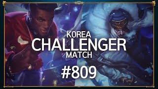 Thách Đấu Hàn Quốc | #809 | Liên Minh Huyền Thoại