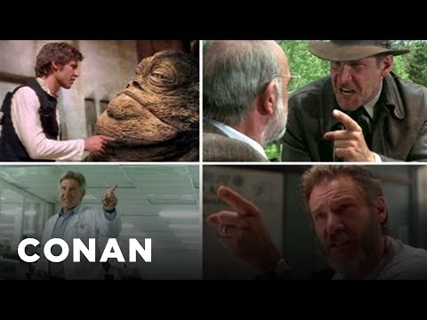"""Harrison Ford Angrily Points At Stuff"" Supercut"