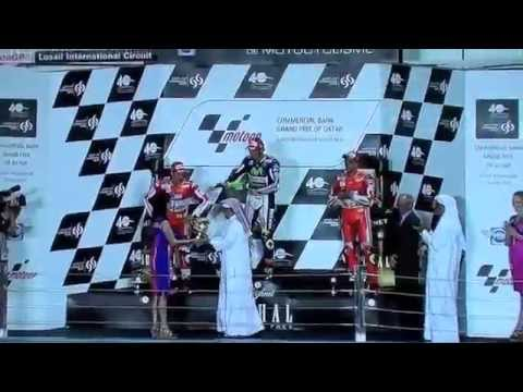 MotoGP Qatar 2015 final laps & interviews