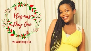 VLOGMAS 2018 DAY 1 | FORGIVENESS, COPING W/HEARTBREAK WHILE PREGNANT & PURSUING HAPPINESS