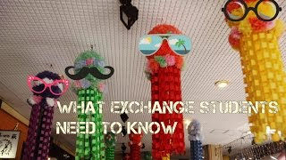 Things You Need to Know Before (and during) Exchange
