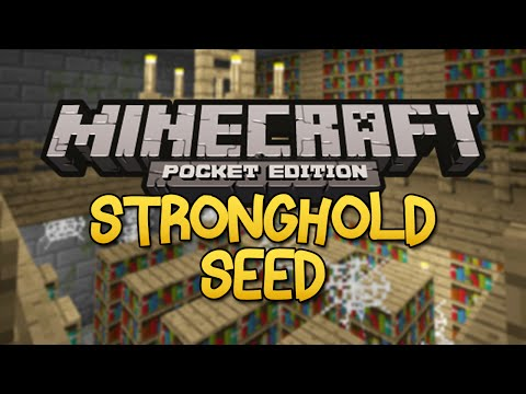 STRONGHOLD SEED Minecraft Pocket Edition 0.9.0 End Portal Seed
