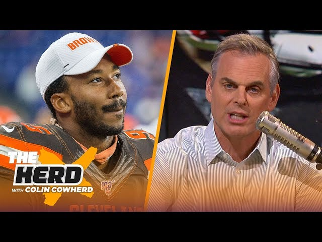 Colin reacts to Myles Garrett suspension, says Baker will never reach his potential | NFL | THE HERD thumbnail