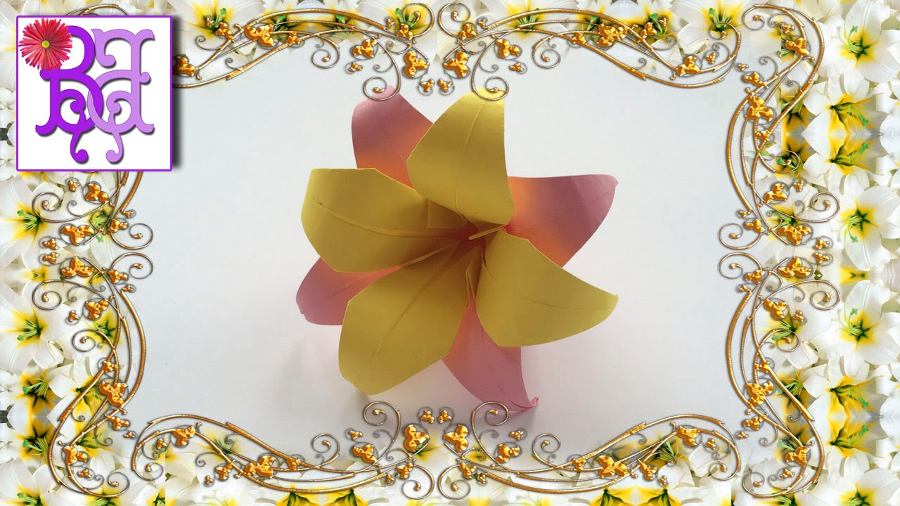 Videos for Making Origami Flowers Fruit and Food