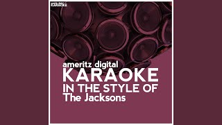 Blame It On The Boogie Karaoke Version