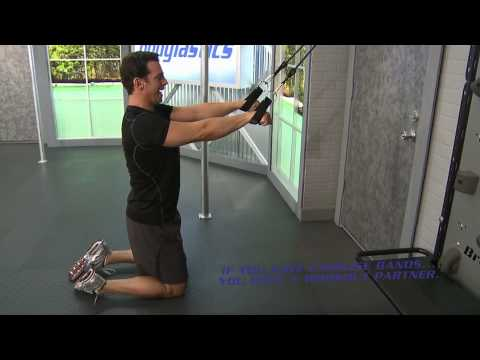 Straight Arm Lat Pulldown with Resistance Bands Image 1
