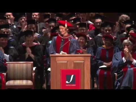 Laura Leggett Linney Addresses Juilliard Class of 2013
