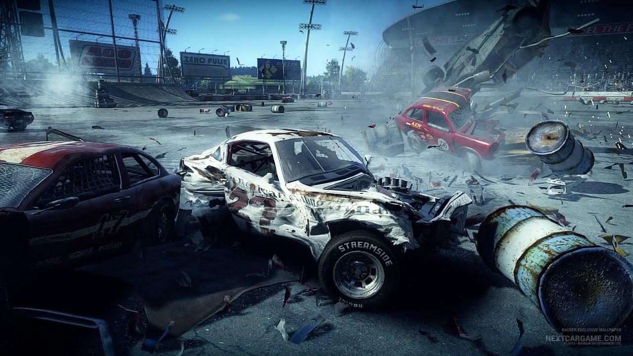 flatout 4 next car game   youtube