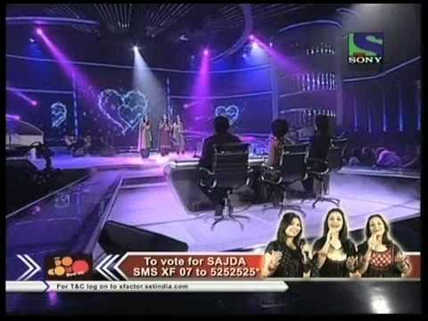 X Factor India - Sajda Sisters Sings Soothingly On Do Lafzon Ki Hai - X Factor India - Episode 15 - 2nd Jul 2011 video