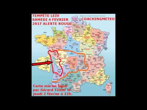 0/ ARCHIVES DES 3 TEMPÊTES KURT, LEIV ET MARCEL SURVENUES EN FRANCE ENTRE LE VENDREDI 3 ET LE DIMANCHE 5 FEVRIER 2017- COACHING METEO- GERARD TEXIER.