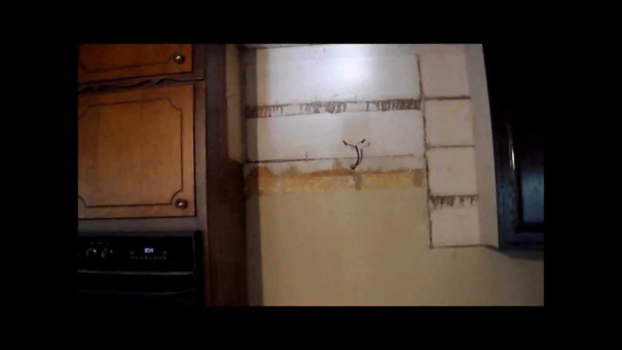 DIY - Above Counter & Sink Quick Fix - YouTube