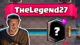"I BEAT ""TheLegend27"" IN CLASH ROYALE 